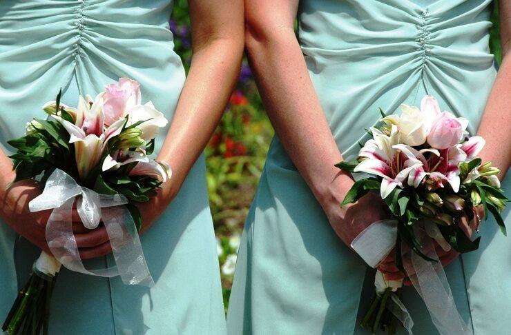 Букет в подарок для невесты от подруги фото 71